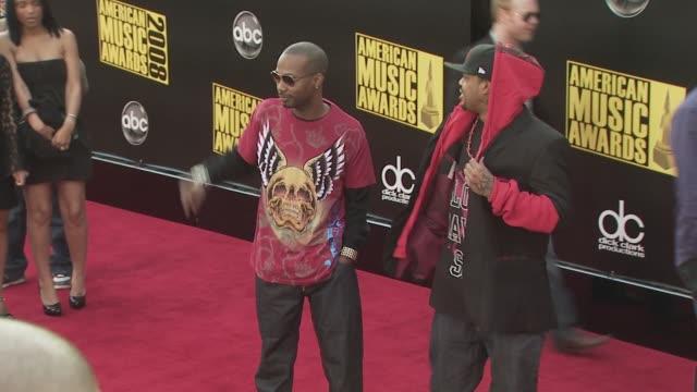 three 6 mafia at the 2008 american music awards at los angeles ca - three 6 mafia stock videos and b-roll footage