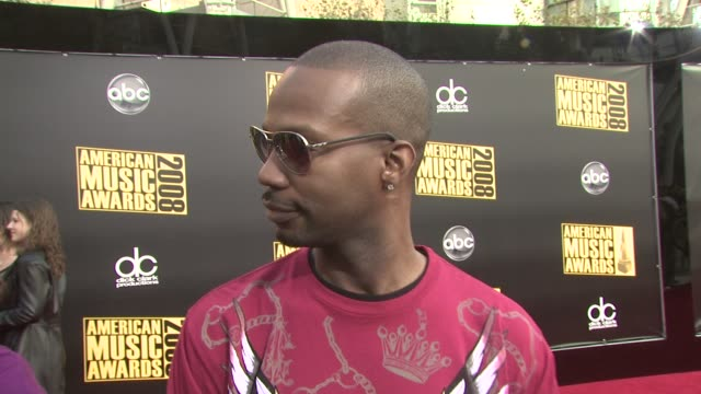 three 6 mafia on being here on being nominated on what's next at the 2008 american music awards at los angeles ca - three 6 mafia stock videos and b-roll footage
