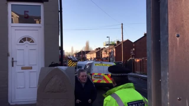 Three children have died and another child is critically ill after a suspicious house fire at a midterraced house on Jackson Street in Worsley...