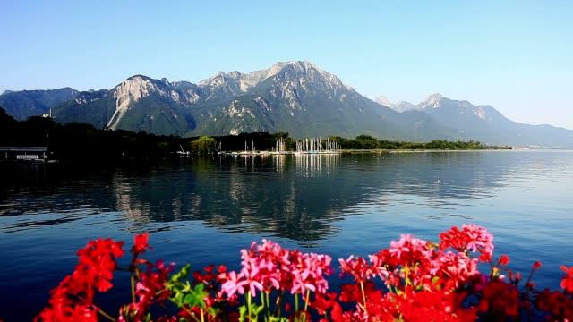 Drei clips von Genf auf die Landschaft