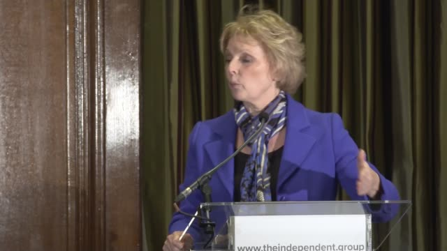 press conference england london westminster one great george street anna soubry speaking sot sarah wollaston speaking sot heidi allen speaking sot... - heidi allen stock videos & royalty-free footage