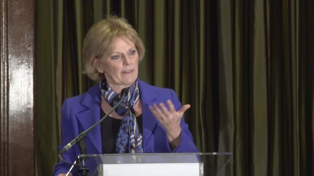 press conference england london westminster one great george street anna soubry speaking sot sarah wollaston speaking sot anna soubry speaking sot... - heidi allen stock videos & royalty-free footage