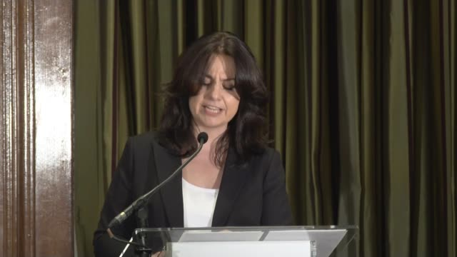 three conservative mps quit party to join independent group uk london westminster one great george street independent group of mps press conference... - heidi allen stock videos & royalty-free footage