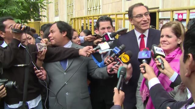 three days after peru's runoff election the race to lead one of latin america's fastestgrowing economies is still too close to call even though more... - martín vizcarra stock videos & royalty-free footage
