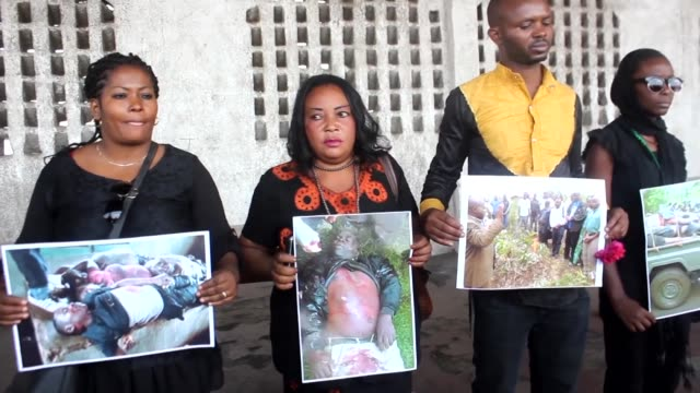 three days of national mourning end in the democratic republic of congo after the massacre of 51 civilians in beni in the east of the country with a... - democratic republic of the congo stock videos & royalty-free footage