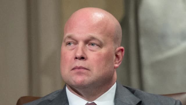 Three Democratic senators sue to challenge President Donald Trump's appointment of Matthew Whitaker as acting attorney general