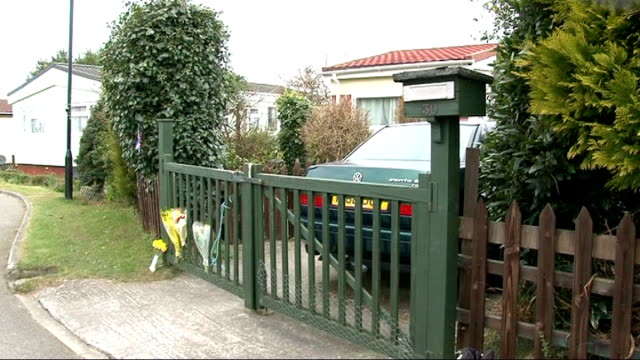 stockvideo's en b-roll-footage met three die of suspected carbon monoxide poisoning in caravan park in cornwall england cornwall camborne ext sign reading 'tremarle home park' on wall... - carbon monoxide