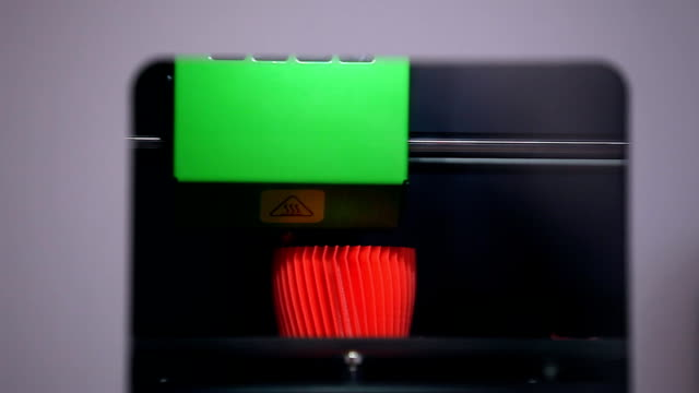 three dimensional 3d printing machine in action - 3d printing stock videos & royalty-free footage