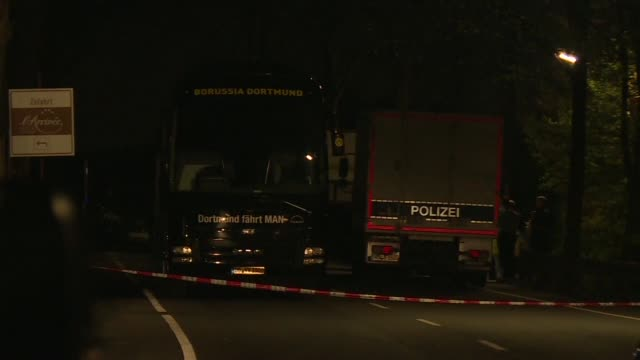 Three explosions rock the Borussia Dortmund bus injuring Spanish international Marc Bartra as the German team headed for a Champions League game...