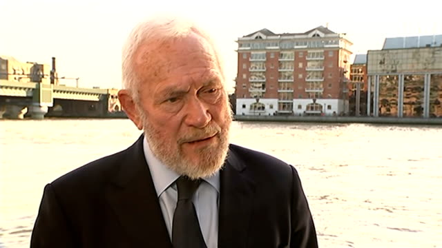 three french sports stars among ten killed in helicopter crash; england: day sir robin knox-johnston interview sot - robin day stock videos & royalty-free footage