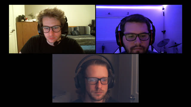 three friends concentrate while playing multiplayer video games together during a video call - alpha channel stock videos & royalty-free footage