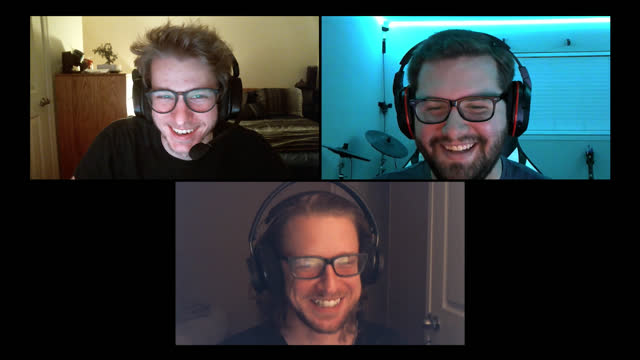 three friends playing multiplayer video games chat and laugh during video call - alpha channel stock videos & royalty-free footage