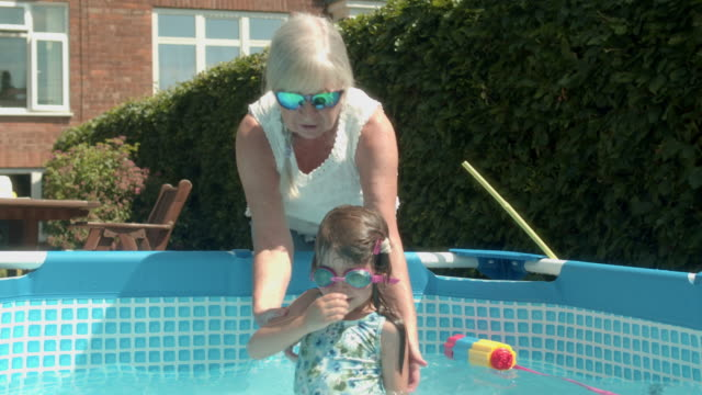 three generations - inflatable stock videos & royalty-free footage