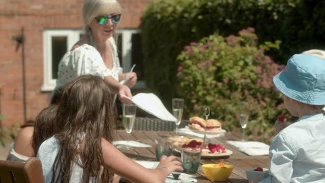 three generations - multi generation family stock videos & royalty-free footage
