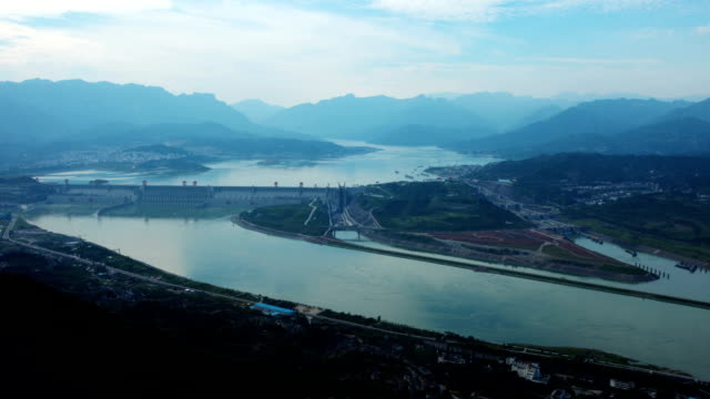 three gorges dam - dam stock videos and b-roll footage