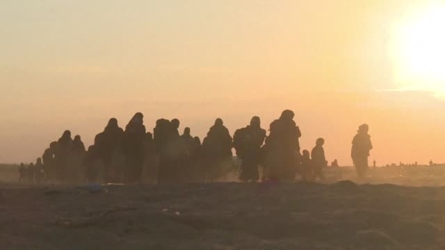 three months after the fall of syria's baghouz afp recaps its coverage of the final weeks of fighting by the syrian democratic forces against the... - jihad stock videos & royalty-free footage