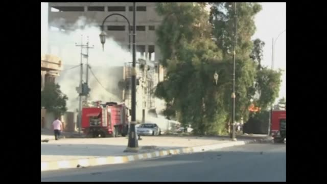Three near simultaneous car bombs exploded in the northern Iraqi city of Kirkuk on Saturday killing 21 people and wounding 118 a senior police...