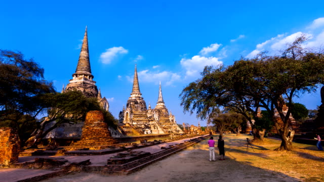 Three pagoda in Ayutthaya, Thailand