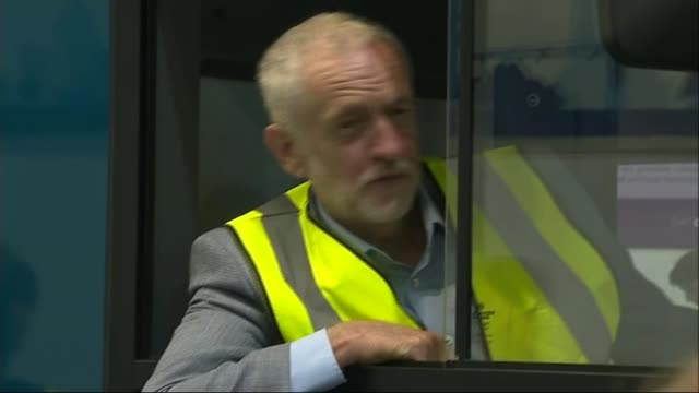 three quarters of councils turning away from outsourcing public services to private companies uk scotland falkirk jeremy corbyn mp visiting alexander... - jeremy corbyn stock videos & royalty-free footage
