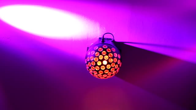 three shots of disco ball light - mack2happy stock videos and b-roll footage