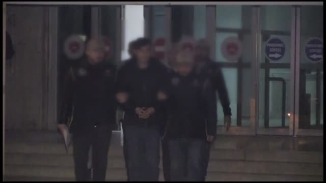 three suspects arrested in southeastern turkey in a vehicle equipped with explosives were remanded in custody on friday. the suspects, identified by... - explosive material stock videos & royalty-free footage