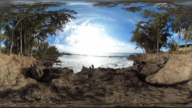 three tables beach oahu hawaii usa - oahu stock videos & royalty-free footage