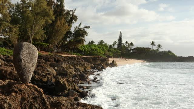 Three Tables Beach Oahu Hawaii USA