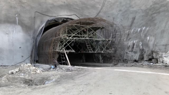 Three Turkish workers died due to a collapse at a tunnel construction site on a highway near ArbilIraq on 29 December 2014