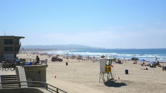vídeos y material grabado en eventos de stock de tres vídeos de hermosa beach in 4 k - bulevar
