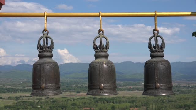 three videos of church bells in 4k - bell stock videos & royalty-free footage