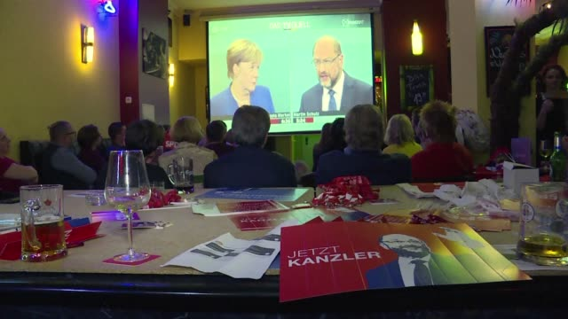 Three weeks before elections Angela Merkel appears to powering ahead to a possible fourth term as chancellor of Germany after her rival Martin Schulz...