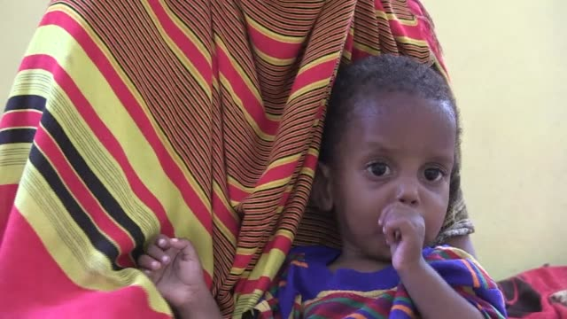 three years after a famine caused by conflict and drought killed almost 10% of somalia's children, there are still over 200, 000 acutely malnourished... - horn of africa stock videos & royalty-free footage