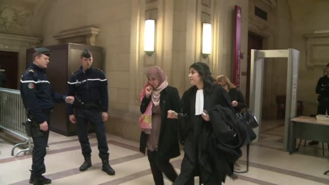 vídeos de stock, filmes e b-roll de three young french men and one woman were sentenced on wednesday to between three and five years in jail after attempting to reach syria a few days... - sátira