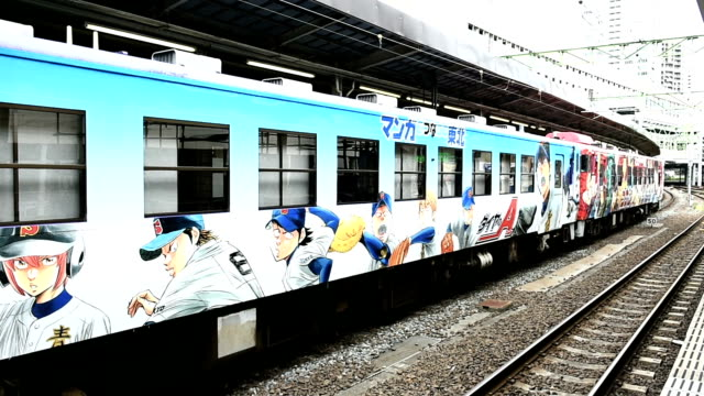 A threecar train decorated with characters of popular manga is touring the Tohoku region as part of efforts to draw attention to reconstruction...
