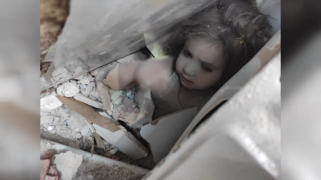 three-year-old girl was pulled out of the rubble alive on tuesday days after a magnitude 6.6 earthquake hit turkey's aegean region. ayda gezgin was... - survival stock videos & royalty-free footage