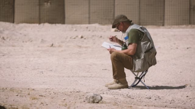 Through the Combat Art Program active duty marines reservists and civilian artists sketch US Marines and Sailors at Al Taqaddam Air Base Iraq 6 June...