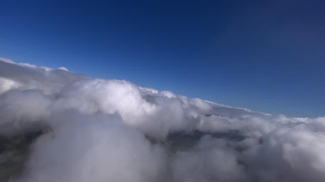 Through thinning cumulus