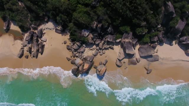 thu nham beach, phu yen, vietnam - coastline stock videos & royalty-free footage
