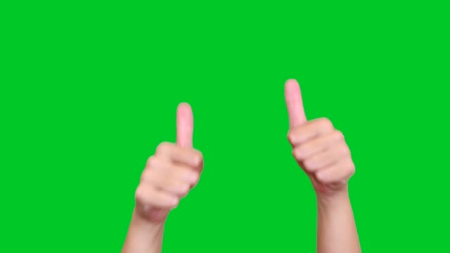 thumbs up for likes - thumbs up stock videos & royalty-free footage