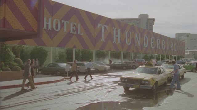 thunderbird hotel & casino - gambling stock videos & royalty-free footage