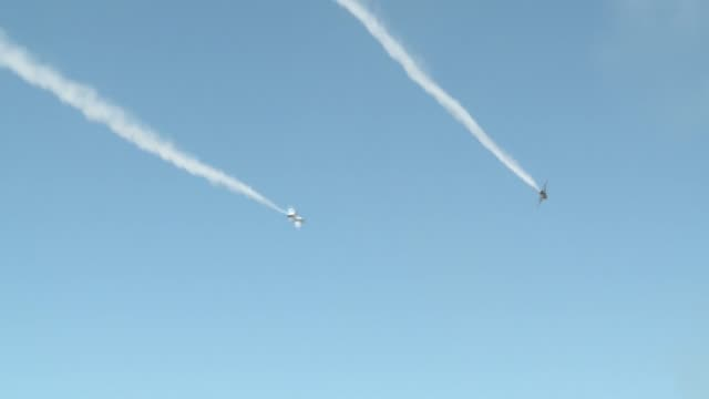 thunderbirds at the barksdale air force base air show on april 25 - thunderbirds stock videos and b-roll footage