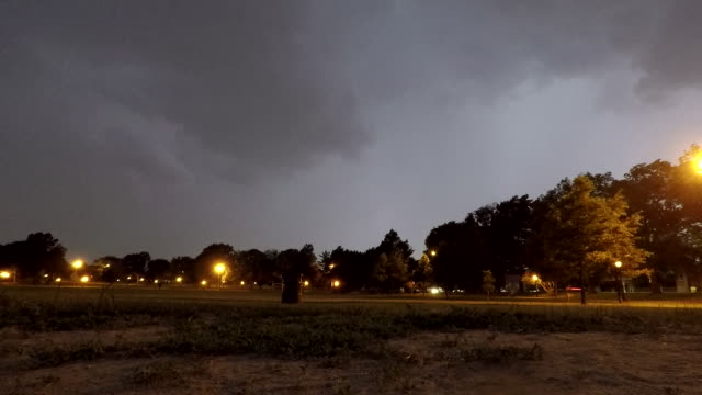 Thunderstorm Approaching - Time Lapse Sequence