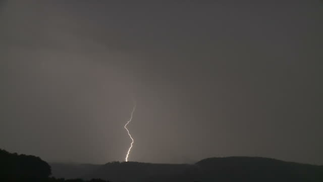 thunderstorm, lightning - meteorologie stock-videos und b-roll-filmmaterial