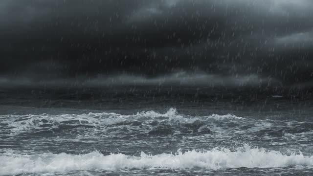 雷雨 - 放電点の映像素材/bロール