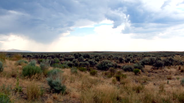 Thunderstorms over great basin Steens Mountain Oregon 8