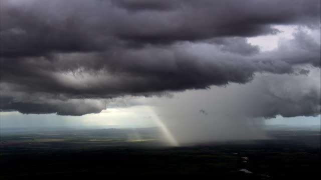 thunderstorms, South Of Brasilia  - Aerial View - Minas Gerais, Brazil