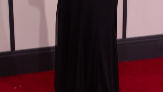 stockvideo's en b-roll-footage met tia carrere at 56th annual grammy awards - arrivals at staples center on in los angeles, california. - tia carrere