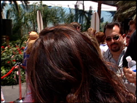stockvideo's en b-roll-footage met tia carrere at the 'lilo and stitch' premiere at the el capitan theatre in hollywood, california on june 16, 2002. - tia carrere