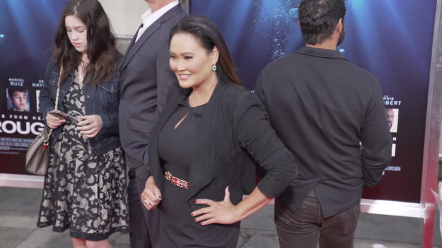 stockvideo's en b-roll-footage met tia carrere at the premiere of 'breakthrough' on april 11, 2019 in los angeles, california. - tia carrere