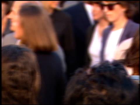 vídeos de stock, filmes e b-roll de tia carrere at the 'twister' premiere on may 8 1996 - tia carrere